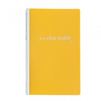 East-File Refillable Clear Holder 359A - A4 Size - Yellow