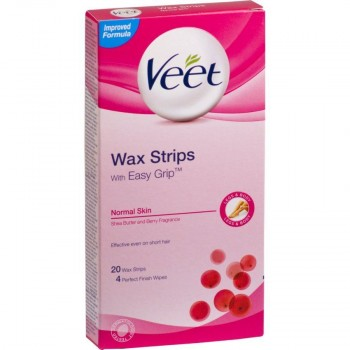 Veet Wax Strip Normal Skin 20's