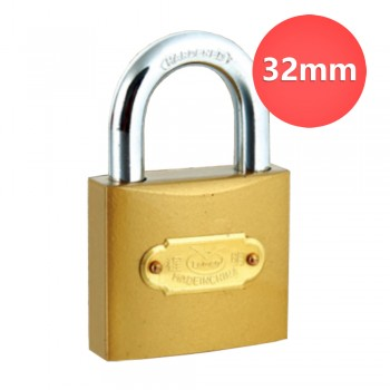 32mm Lemen Color Painted Iron Padlock With Iron Cylinder