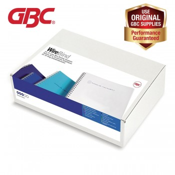 GBC WireBind 34 Loops - 6mm, A4, 55 Sheets, White