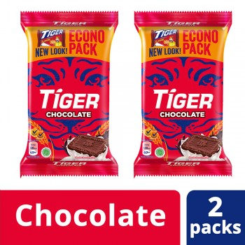 Tiger Energy Biscuits Chocolate Jumbo Pack (450g x 2)
