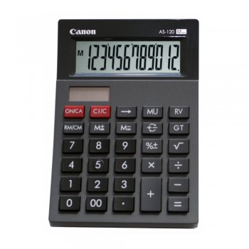 Canon AS-120 Arc Design Desktop 12 Digits Calculator T