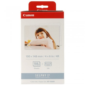 Canon KP108IN 4R Paper for SELPHY CP400/500/600/710/720/740