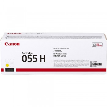 Canon 055H Yellow Toner Cartridge 5.9k