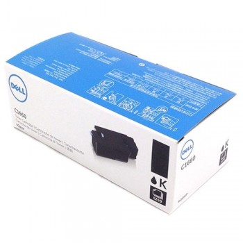 Dell C1660 Black Toner Cartridge 4G9HP (Item no: DELL C1660W BK)