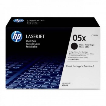 HP 05X Black LaserJet Toner Cartridge (CE505X)