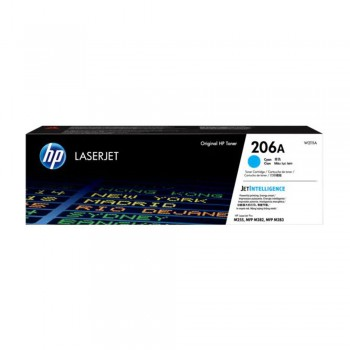 HP 206A Cyan Original LaserJet Toner Cartridge (W2111A)