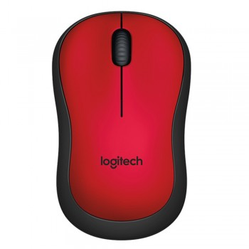 Logitech M221 SILENT Wireless Mouse RED