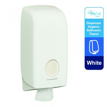 Aquarius™ Folded Toilet Tissue Dispenser 69460 - White