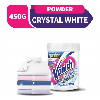 Vanish Fabric Crystal White Stain Remover Powder 450g