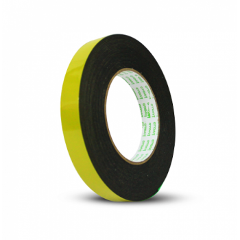 Apollo Double Sided General Purpose Black Foam Tape -  24mm x 9m