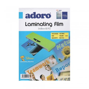 54x86mm LAMINATING FILM (100 PCS)