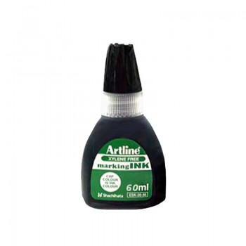 Artline ESK20 Permanent Marker Refill Ink 60ML - Black
