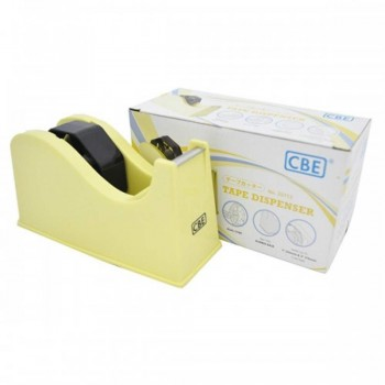 CBE 22113 Tape Dispenser (Medium) - Yellow