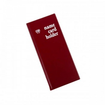 CBE N160 PVC Name Card Holder - Red (Item No: B01-16RD) A1R2B16
