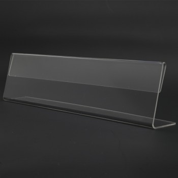 Acrylic T300 Card Stand - 300mm(W) x 70mm (H)