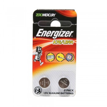 ENERGIZER BATTERY A76/LR44 2PCS