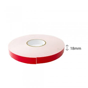 Double Sided PE Foam Tape (White) - 18mm X 8m