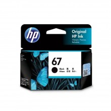 HP 67 Black Ink Cartridge (3YM56AA)